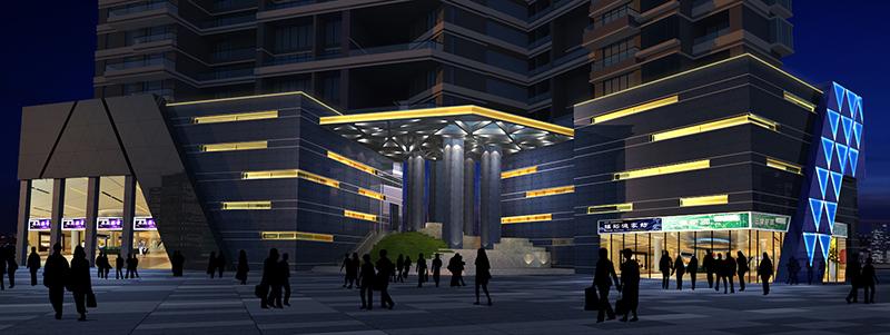 西堤-led亮化工程设计