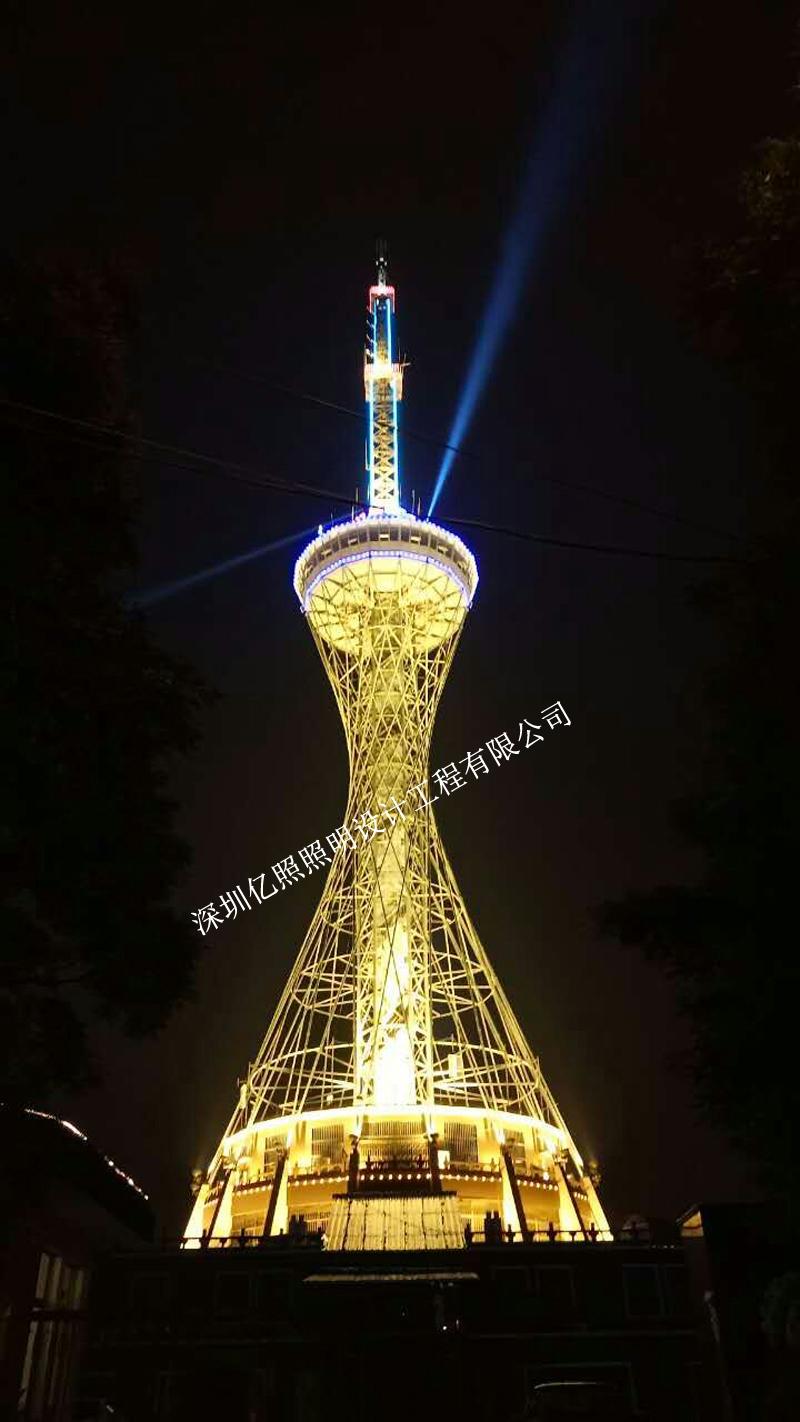 安徽樅陽電視塔燈光工程設計項目