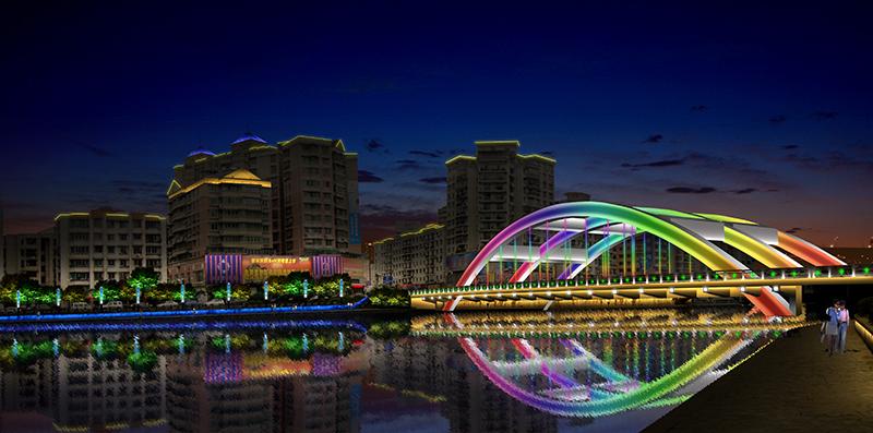 彩虹橋亮化工程設計