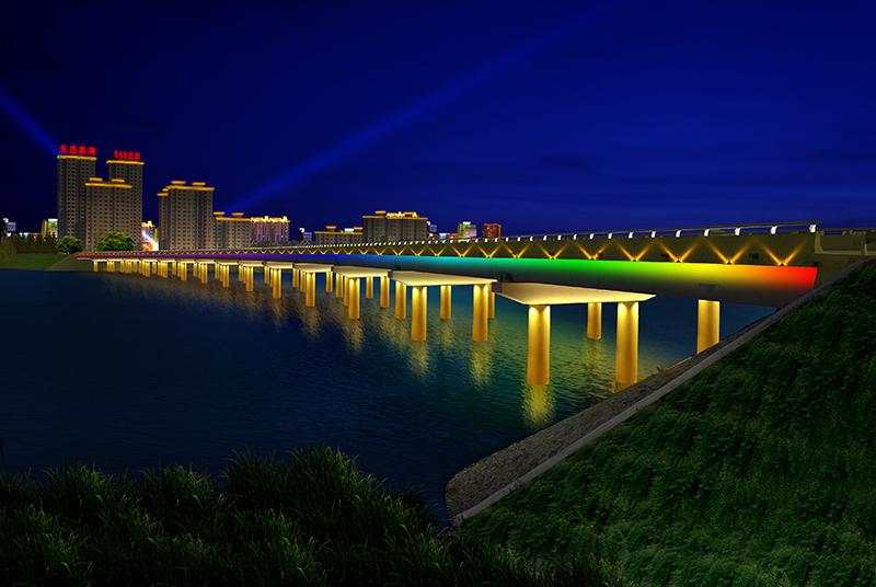 渾河大橋亮化工程設計